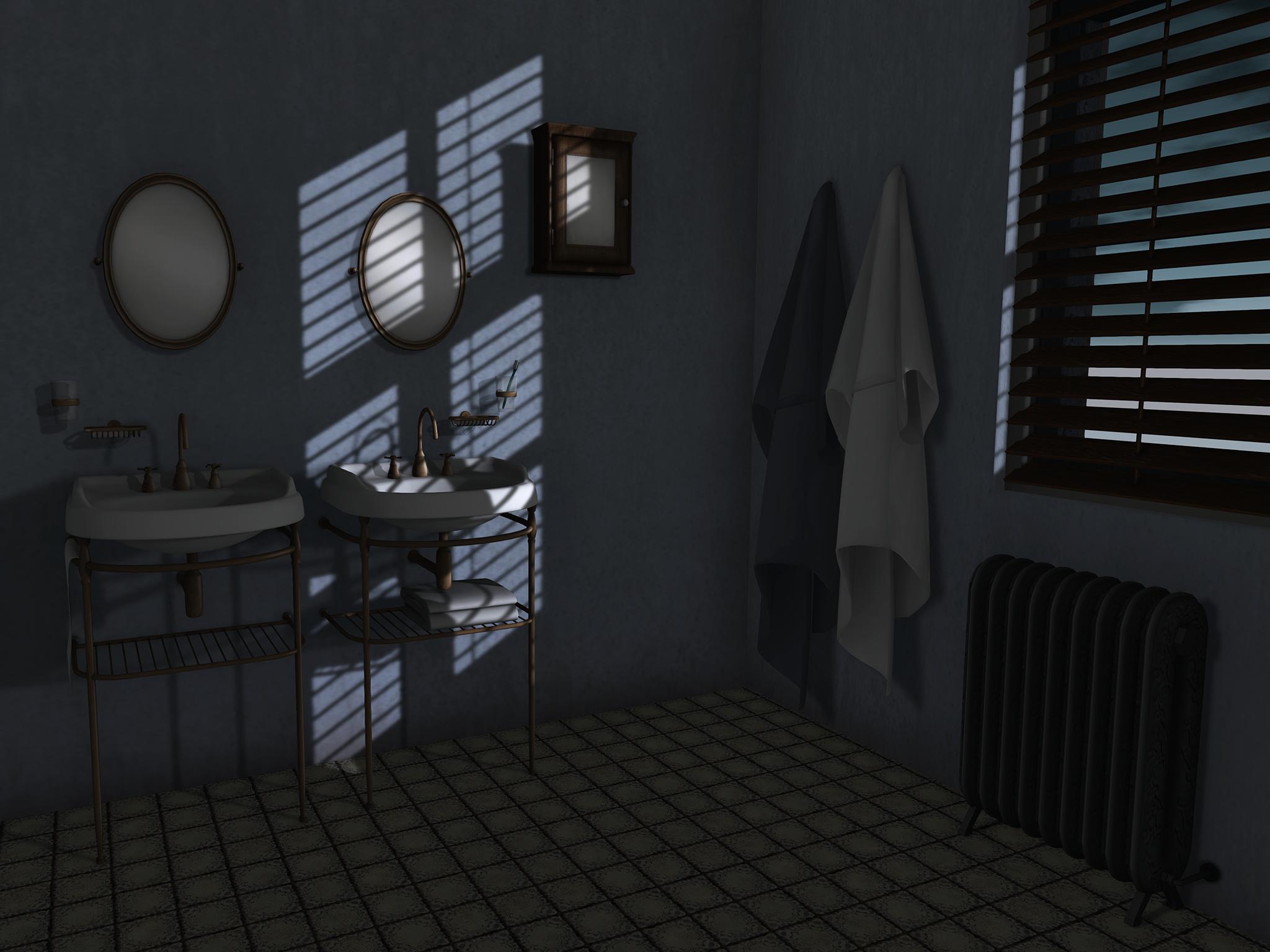batroom shadows