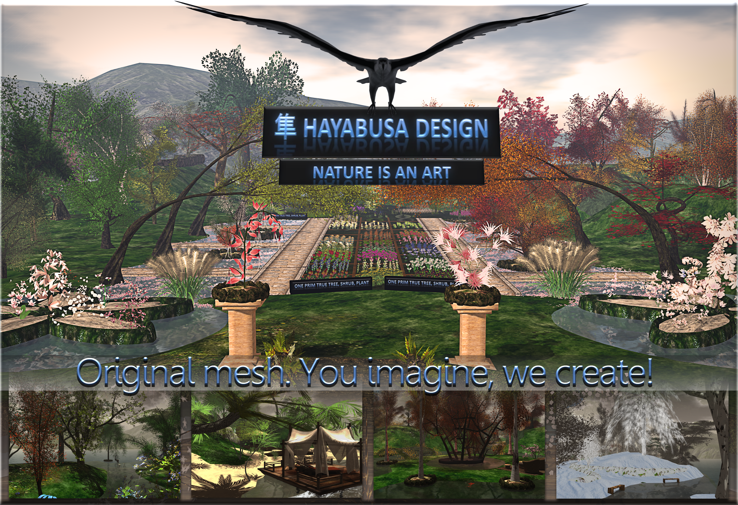 Hayabusa design ad for LTD