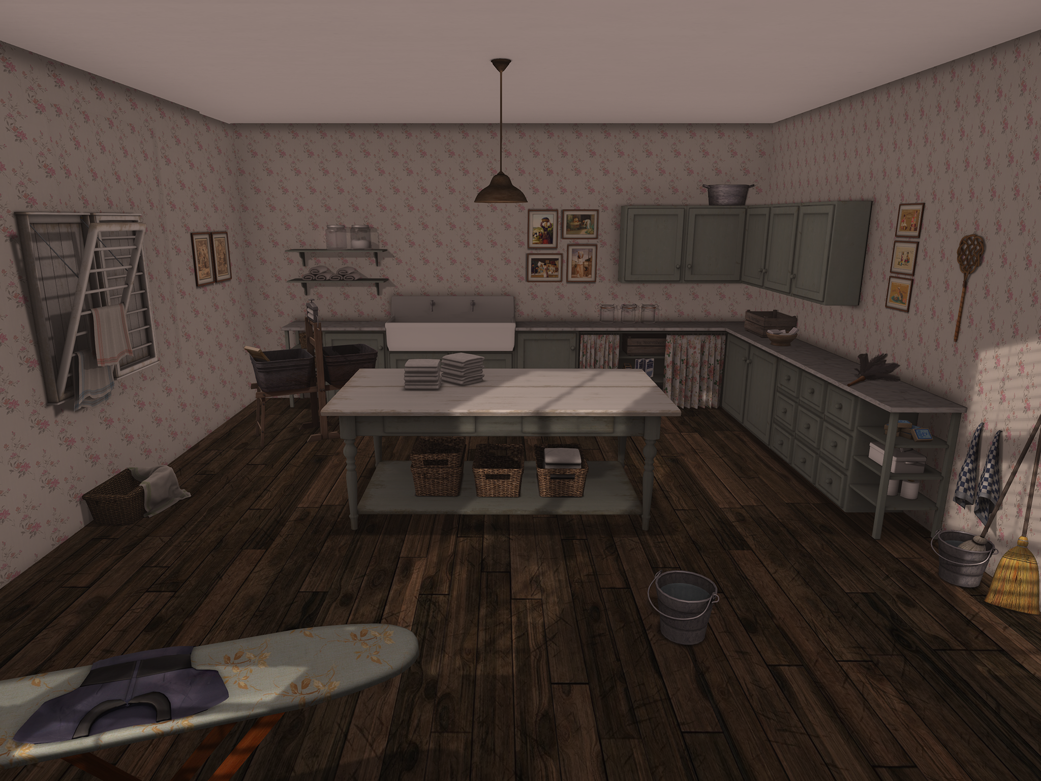 linen room
