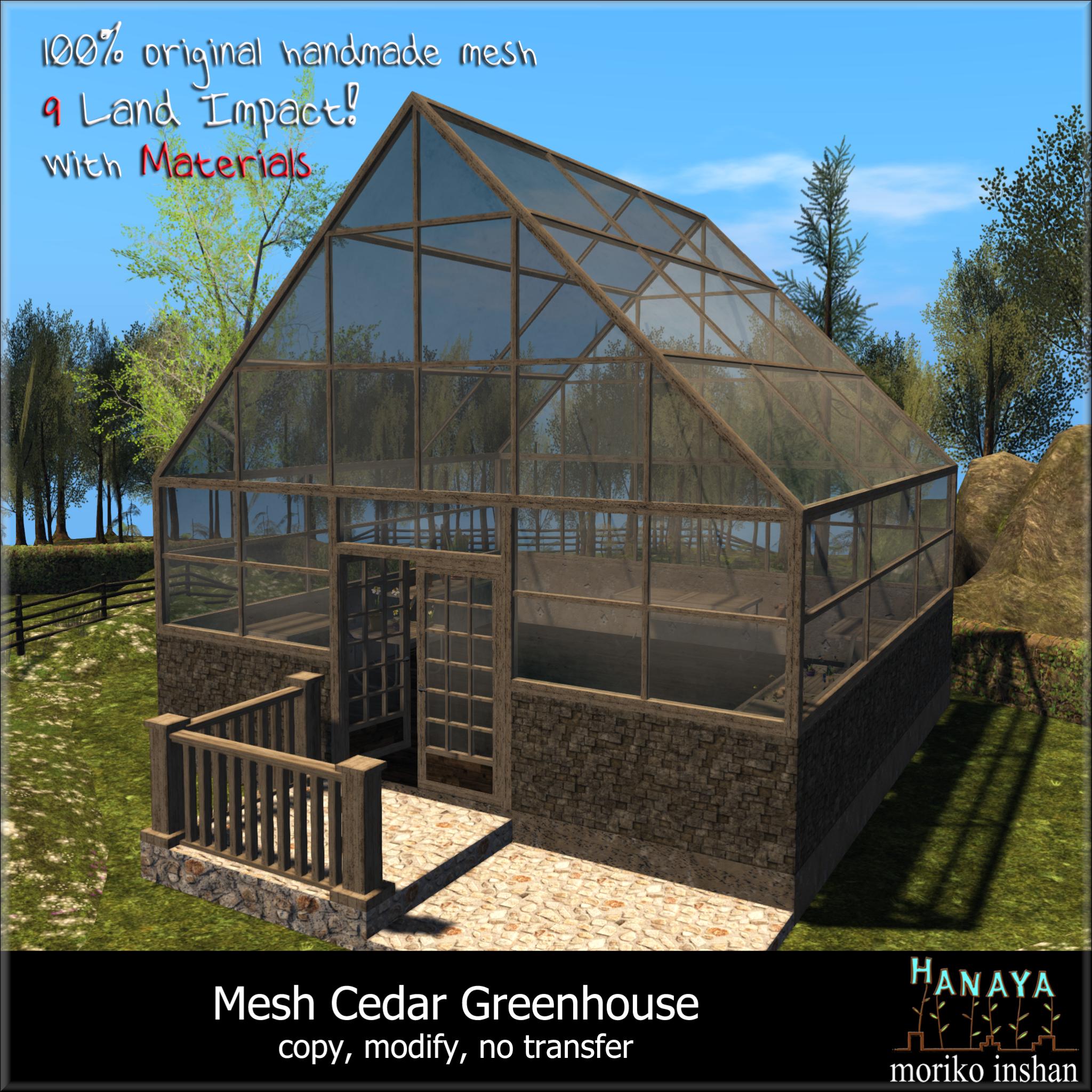Hanaya-Mesh-Cedar-Greenhouse