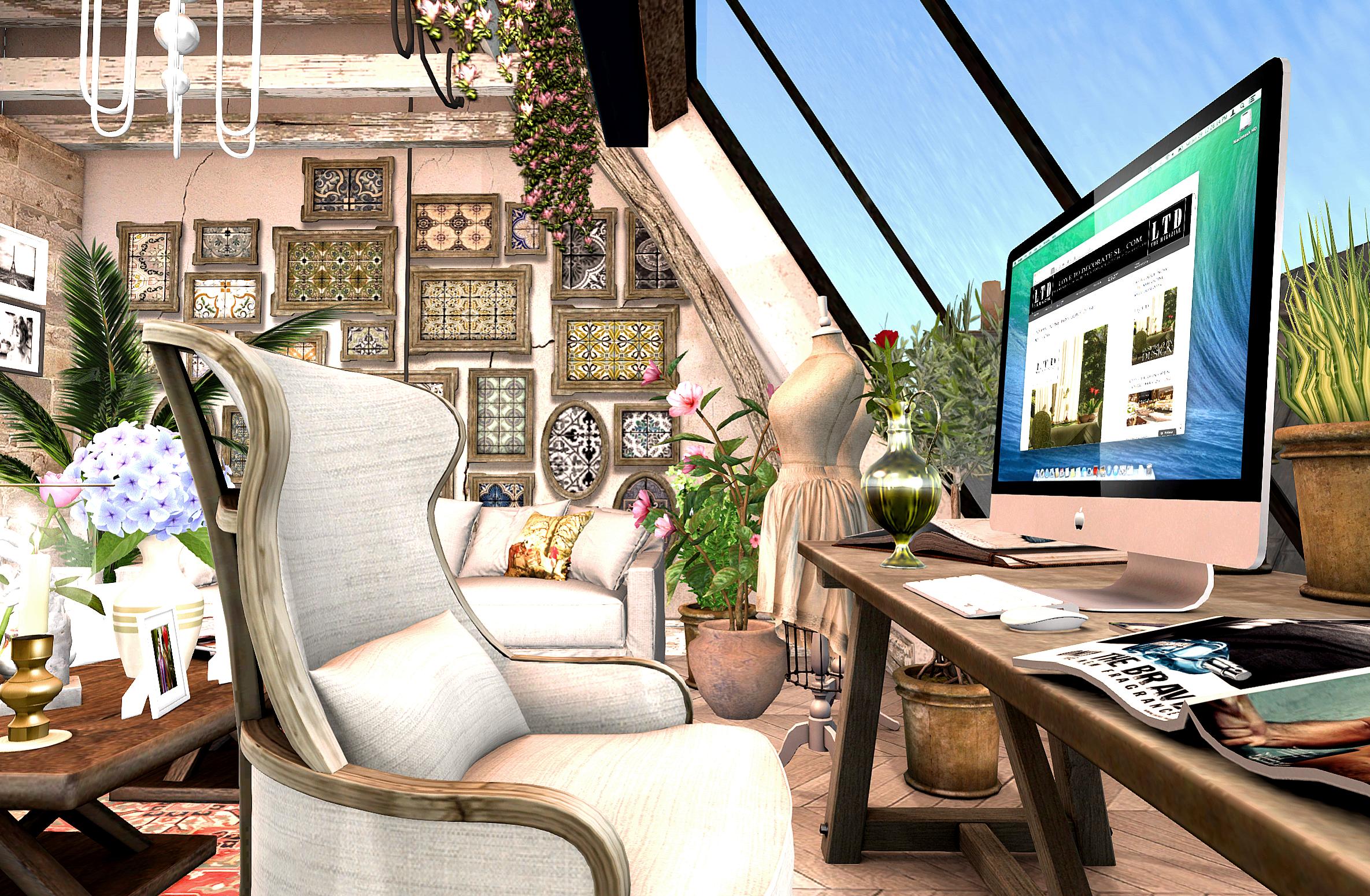 LTD DECOR: My Atelier  Love to Decorate SL
