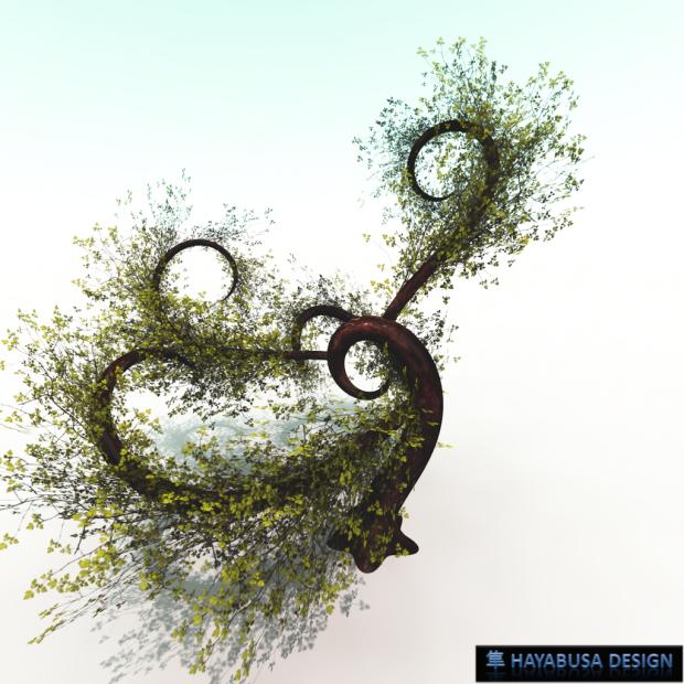 Hayabusa Design Fairy Tree Wind Effect