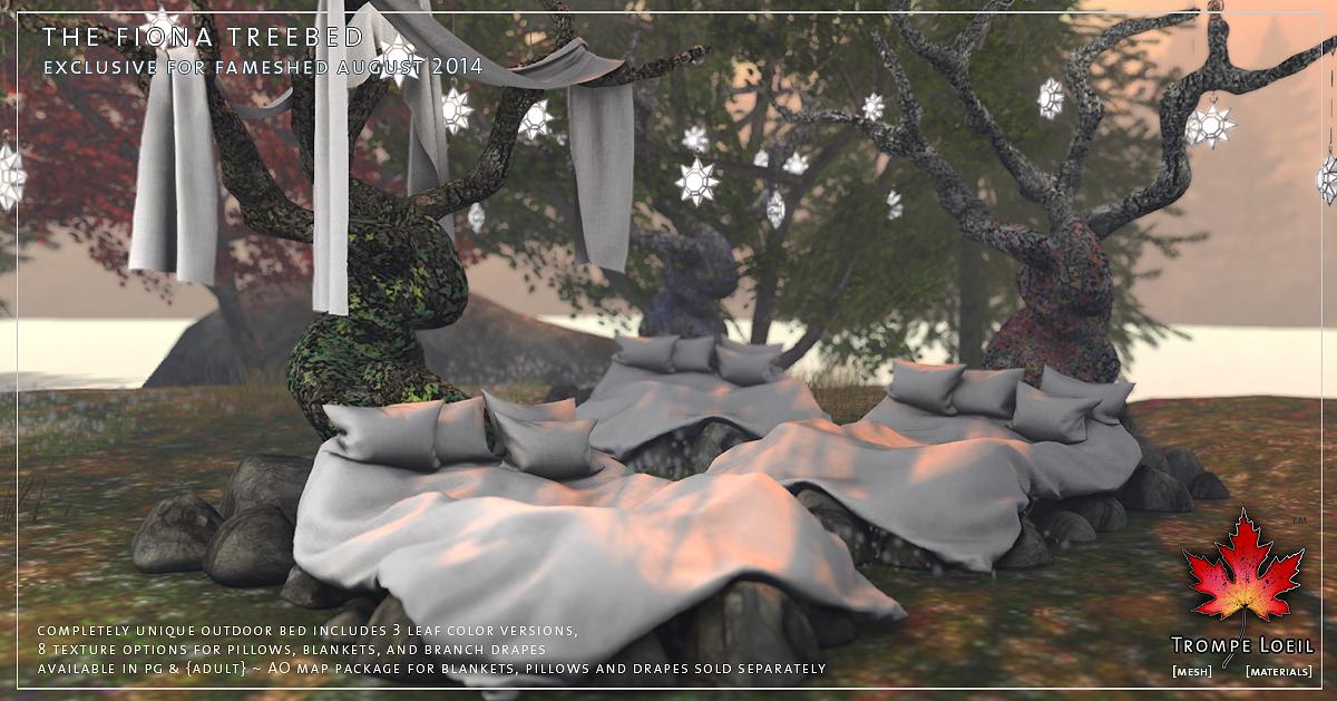 Trompe loeil fiona tree bed and greenhouse love to decorate sl - Trompe loeil hoofd bed ...