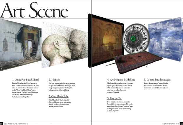 LTD Art Scene SeptOct 2014