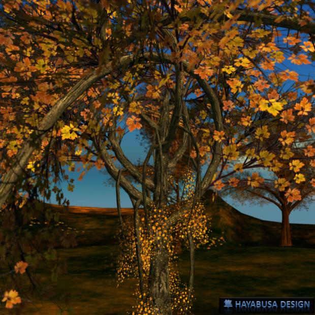 Hayabusa Design Elegant Tree all in curve 1