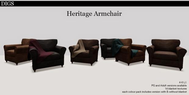 Heritage Armchair Ad