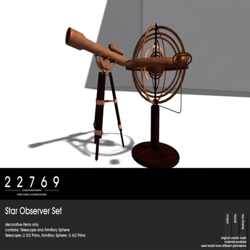 22769 ~ [bauwerk] Star Observer Set [ad]