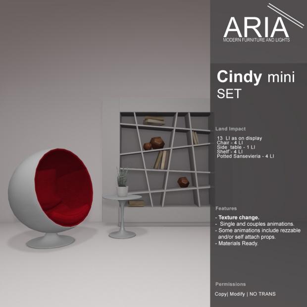 aria cindy mini set