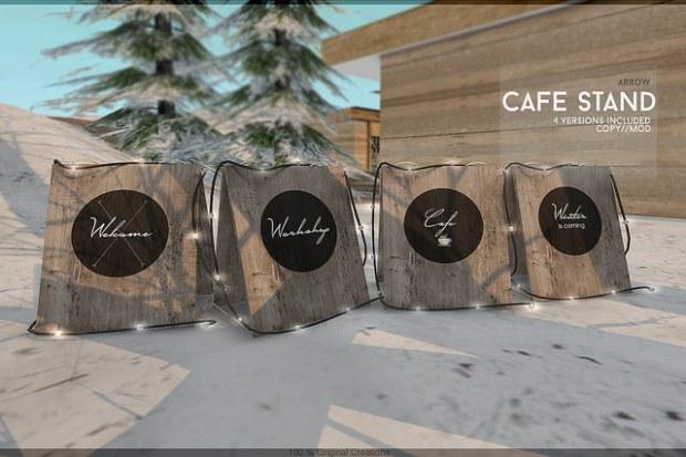 Arrow - Cafe Stand