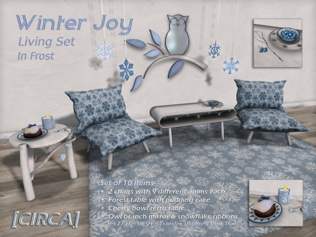 [CIRCA] Living - Winter Joy Living Set