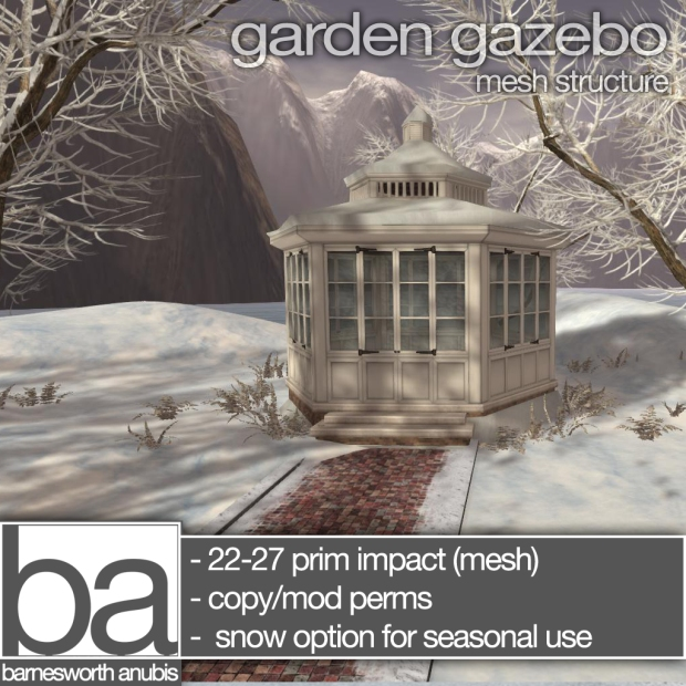 Barnesworth-Anubis - snow gazebo col88
