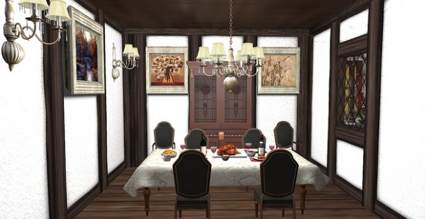 Bee Designs Whistler dining room