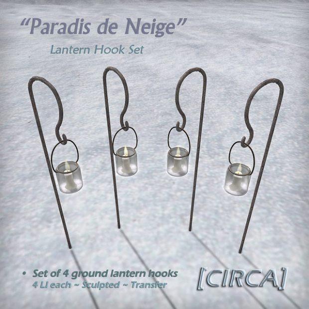 CIRCA - market lantern hook set