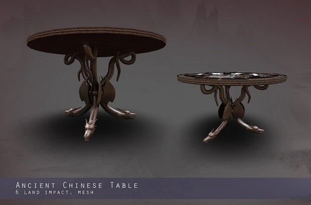 Entity - ancient Chinese Table
