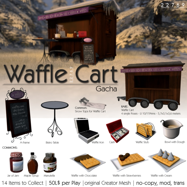 LC Dec 22769 Waffle Cart gacha