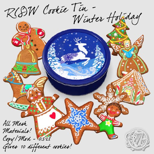 R(S)W - Cookie Tin