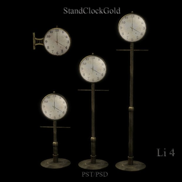 Alchemist - stand clocks 2
