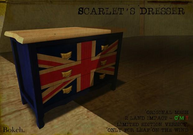 BOKEH - Scarlet's Dresser LOTW