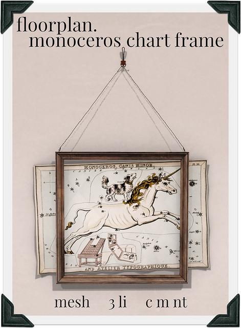 floorplan monoceros chart frame