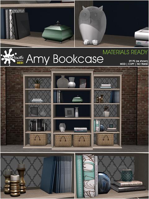 Mudhoney - Amy Bookcase - Fameshed