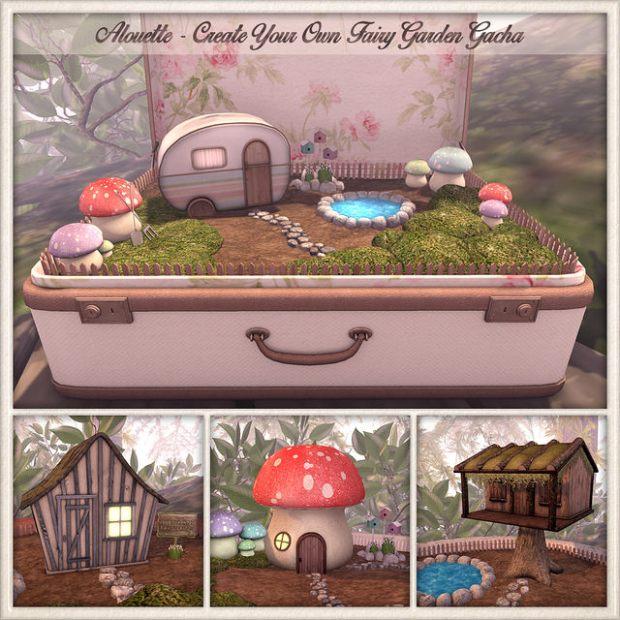 Alouette fairy garden gacha Arcade March