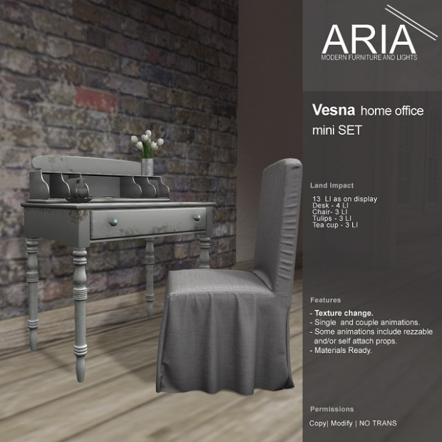 Aria - vesna office set mini SS