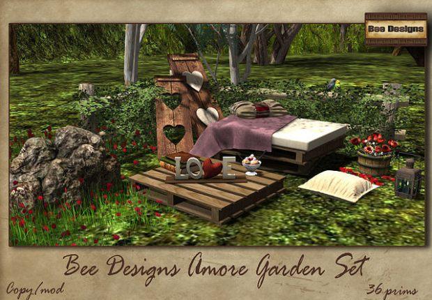 Bee Designs Amore garden set