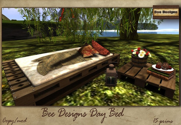 Bee Designs Day Bed