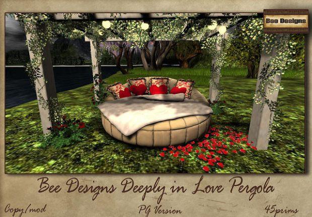 Bee Designs Deeply Pergola