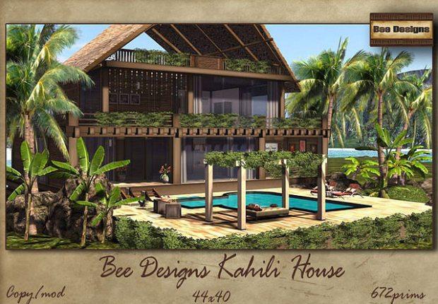 Bee Designs Kahili House
