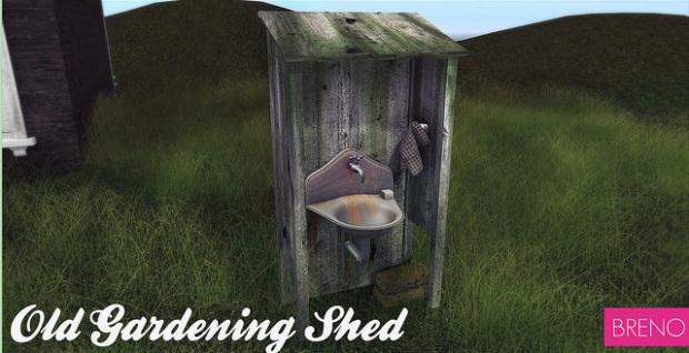 Breno old gardening shed