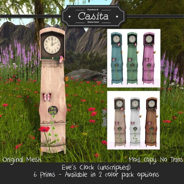 Casita - eve's clock - neighbourhood