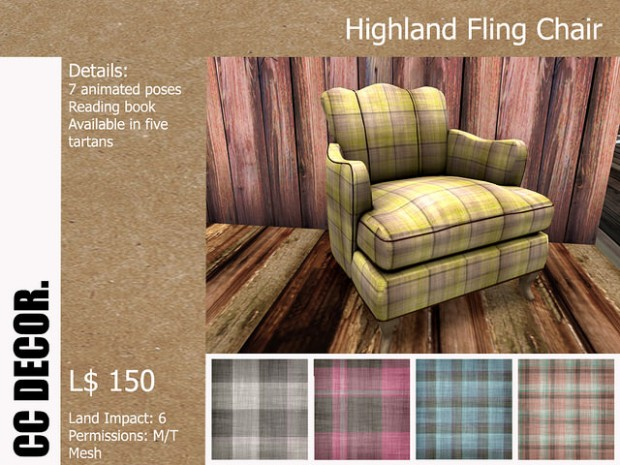 cc decor - highland fling