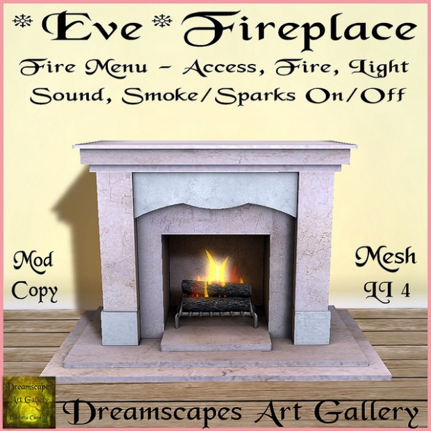 Dreamscapes - eve fireplace