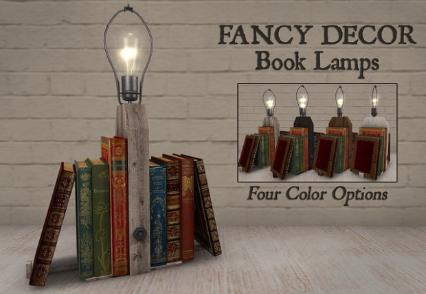 Fancy Decor - book lamp
