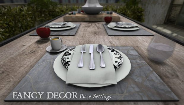 Fancy Decor - Fancy Place Settings