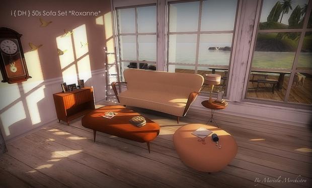 i{DH} 50s sofa set Roxanne