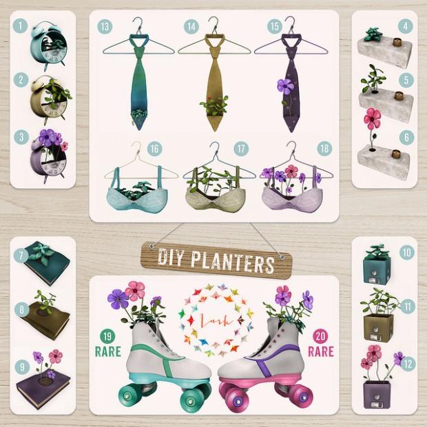 Lark - DIY Planters Gacha - March Arcade