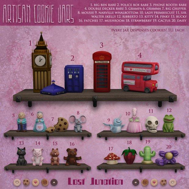 [LJ] Artisan Cookie Jars Arcade March