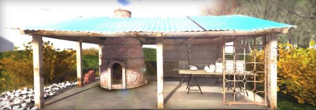 plaaka - kiln and kiln hut