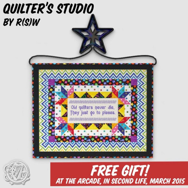 R(S)W Quilters free giftie