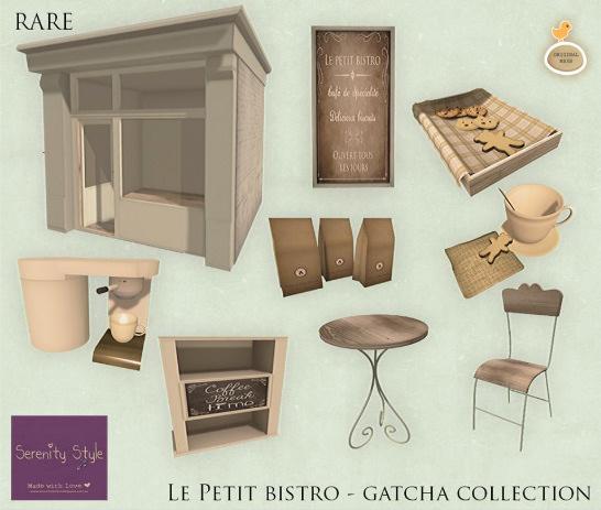 Serenity Style le petit bistro gacha 2