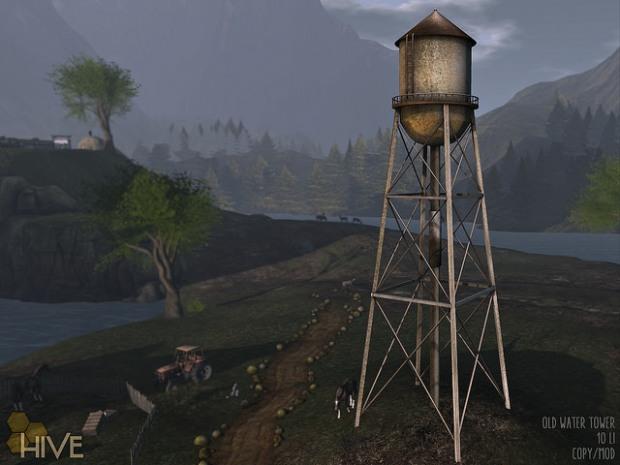 The Hive - Old WaterTower_Neighbourhood