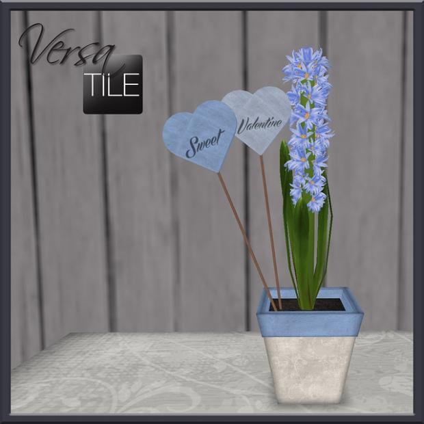 VersaTile - valentine hyacinths