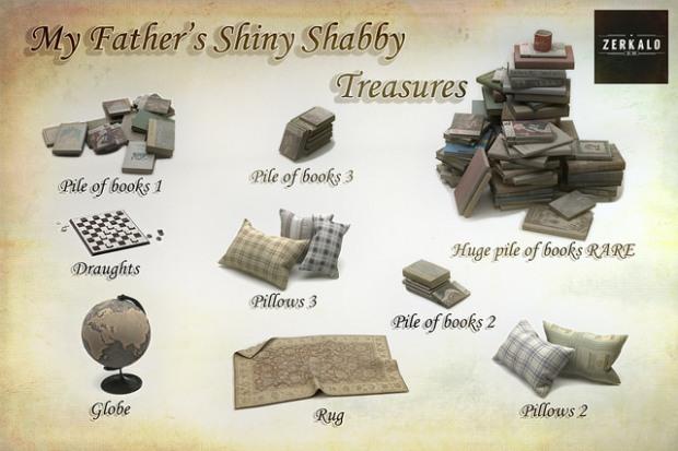 Zerkalo for Shiny Shabby gacha key