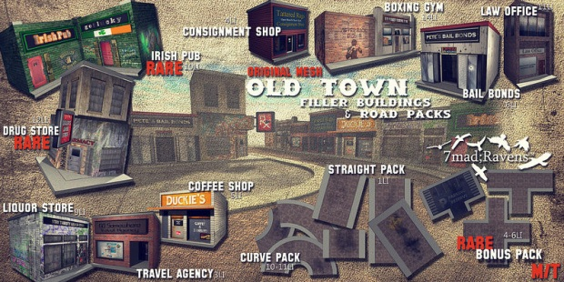 7madravens - old town gacha
