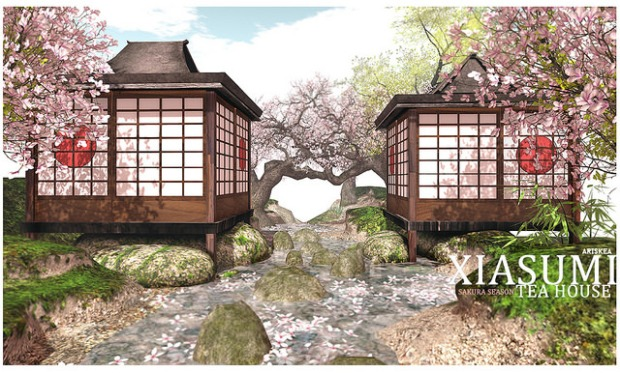 Ariskea - sakura season Tea House - Xiasumi