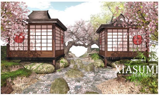 Ariskea - sakura season Tea House - Xiasumi