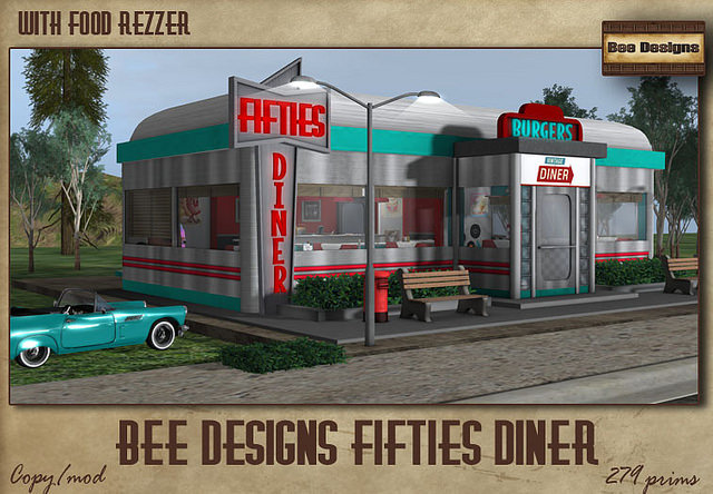 BEE DESIGNS FIFTIES DINER Love To Decorate SL