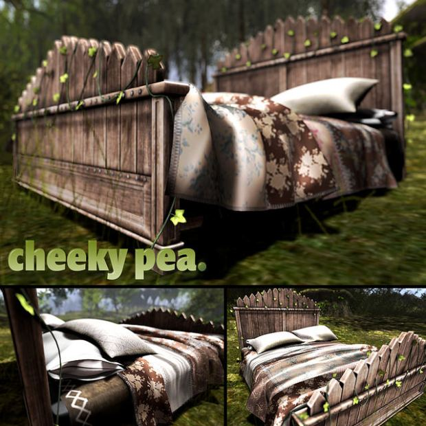 Cheeky Pea - Spring Picket Bed - TMD